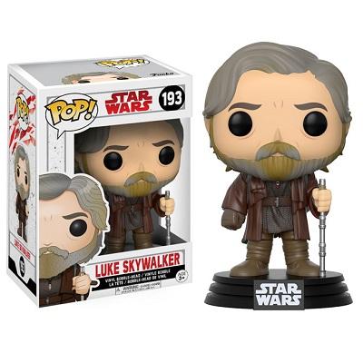 Funko POP! Star Wars E8: Luke Skywalker - 193