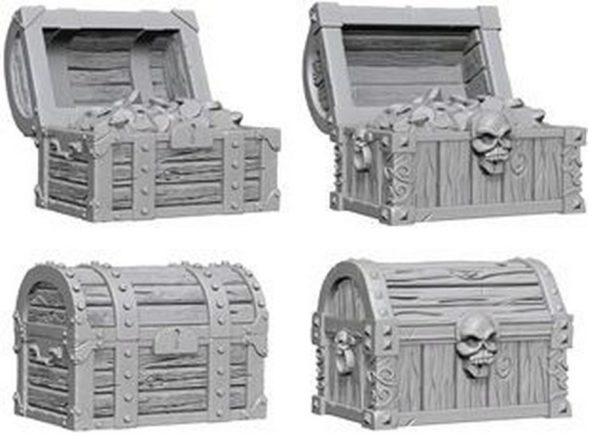 D&D Nolzurs Marvelous Miniatures - Chests
