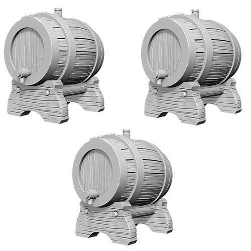 D&D Nolzurs Marvelous Miniatures - Keg Barrels