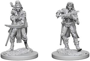 Pathfinder Deep Cuts Miniatures - Elf Female Bard