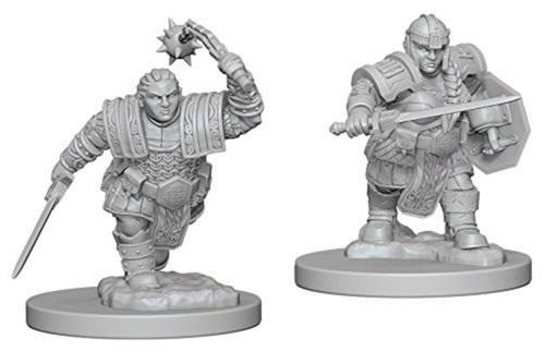 D&D Nolzurs Marvelous Miniatures - Dwarf Female Fighter