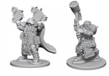 D&D Nolzurs Marvelous Miniatures - Dwarf Male Cleric