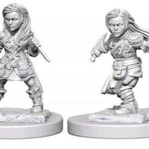 D&D Nolzurs Marvelous Miniatures - Halfling Female Rogue