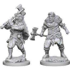 D&D Nolzurs Marvelous Miniatures - Human Male Barbarian