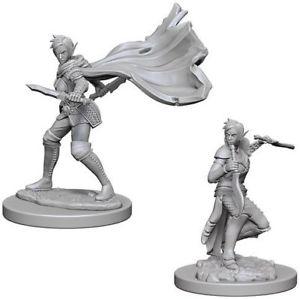 D&D Nolzurs Marvalous Miniatures - Elf Female Rouge