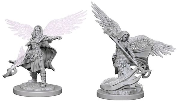 D&D Nolzurs Marvelous Miniatures - Aasimar Female Wizard