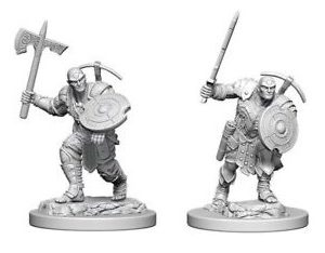 D&D Nolzurs Marvalous Miniatures - Earth Genasi Male