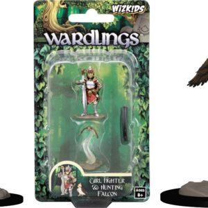 Wizkids Wardlings - Girl Fighter & Hunting Falcon