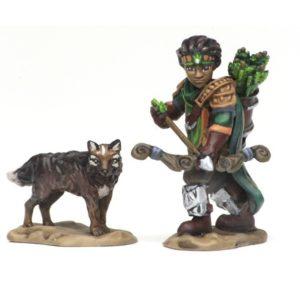 Wizkids Wardlings - Boy Ranger & Wolf