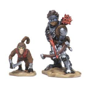 Wizkids Wardlings - Boy Rogue & Monkey