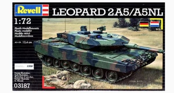 Revell Leopard 2A5/A5NL (1:72) Skill 4 - 03187