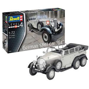 "Revell German Staff Car G4"" (1:72) Skill 4 - 03268"""