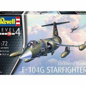 Revell F-104G Starfighter (1:72) Skill 4 - 03904