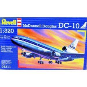 Revell McDonell Douglas DC-10 (1:320) Skill 3 - 04211
