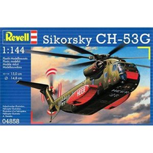 Revell CH-53G Heavy Transport Helicopter (1:144) Skill 3 - 04858