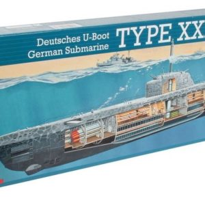 Revell U-Boot Type XXI U 2540 & Interior (1:144) Skill 4 - 05078