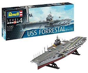 Revell USS Forrestral (CVA-59) (1:542) Skill 4 - 05156