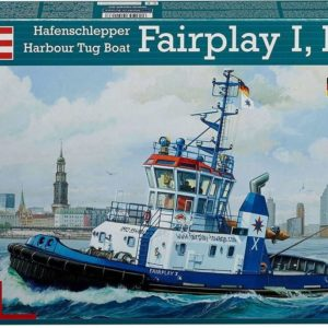Revell Harbour Tug Boat Fair Play I, III, X (1:144) Skill 3 - 05213