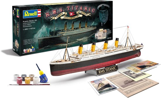 Revell Cadeauset 100 Jahre Titanic (1:400) Skill 5 - 05715