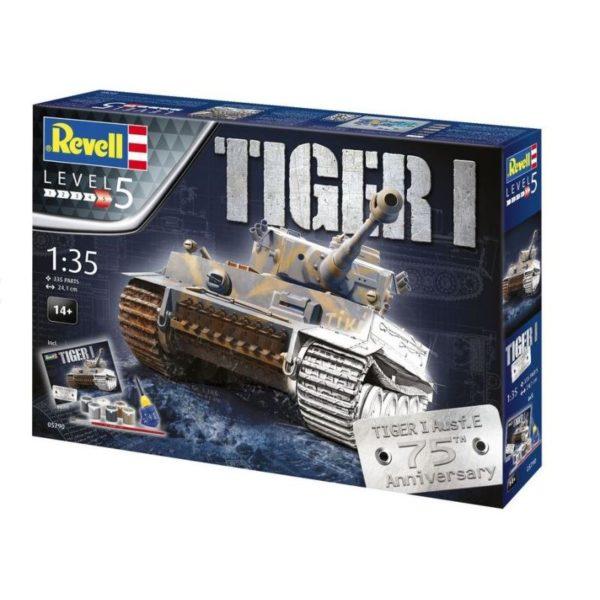 Revell Cadeauset Tiger I 75th Anniversary (1:35) Skill 5 - 05790