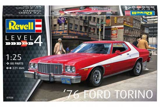 Revell 76 Ford Torino 1:25