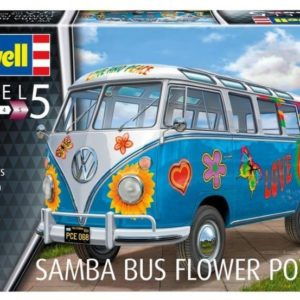 Revell Volkswagen T1 Samba Bus FP 1:24
