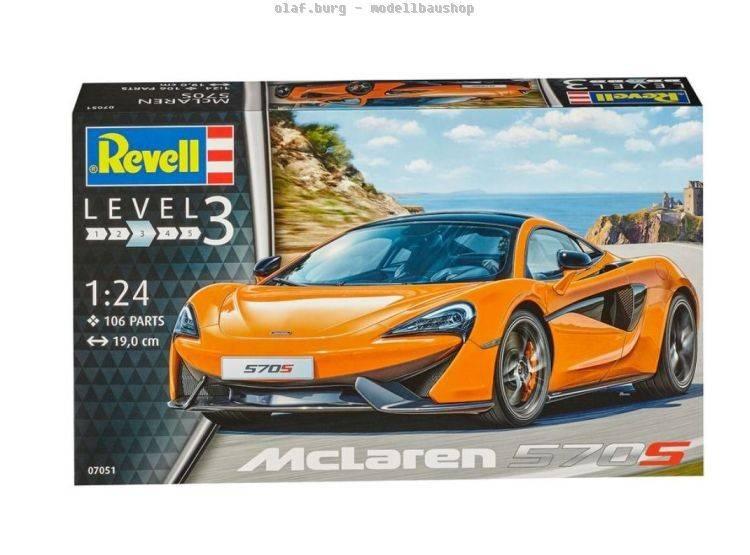Revell McLaren 570S (1:24) Skill 3 - 07051