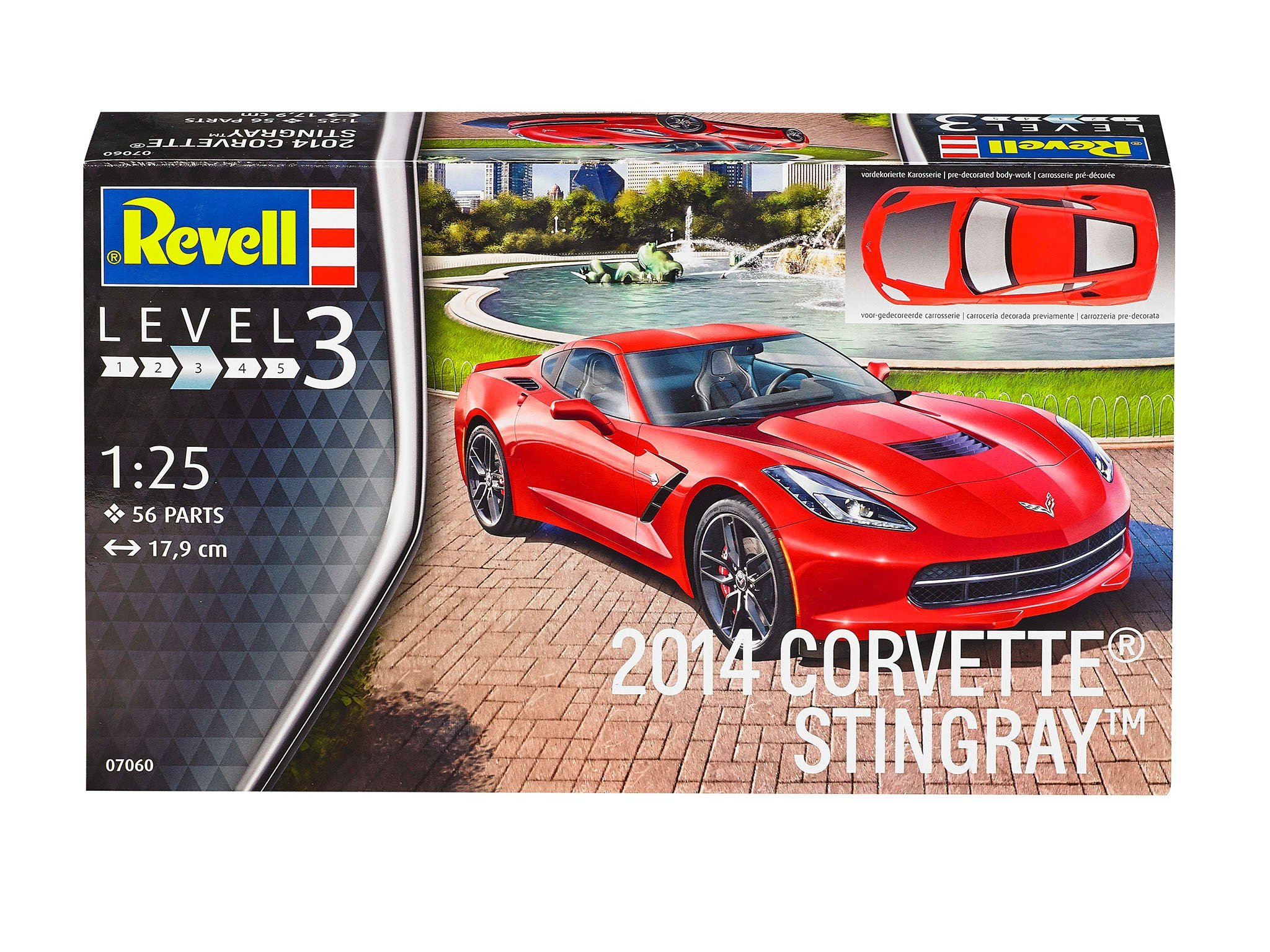 Revell 2014 Corvette Stingray (1:25) Skill 3 - 07060
