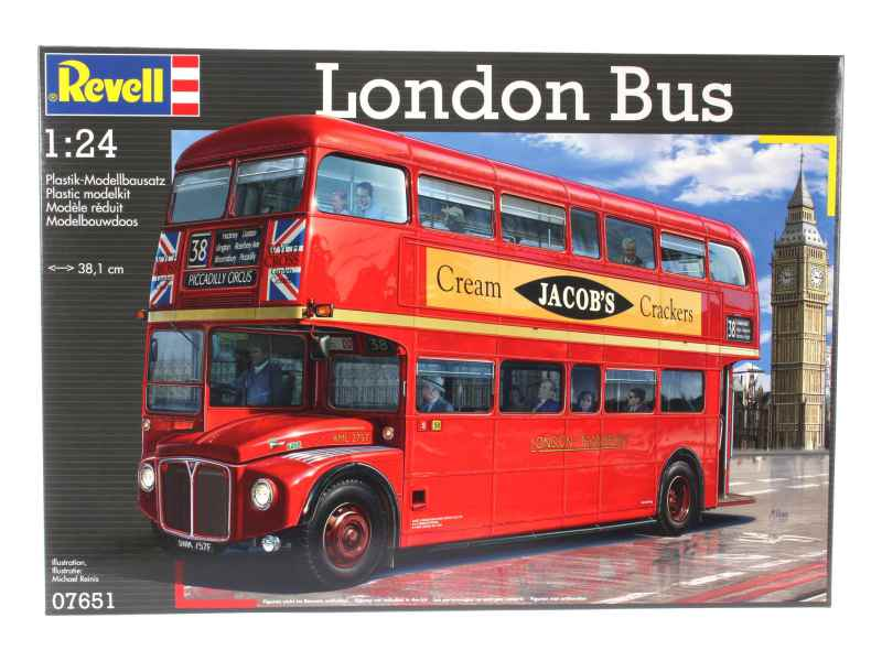 Revell London Bus (1:24) Skill 5 - 07651