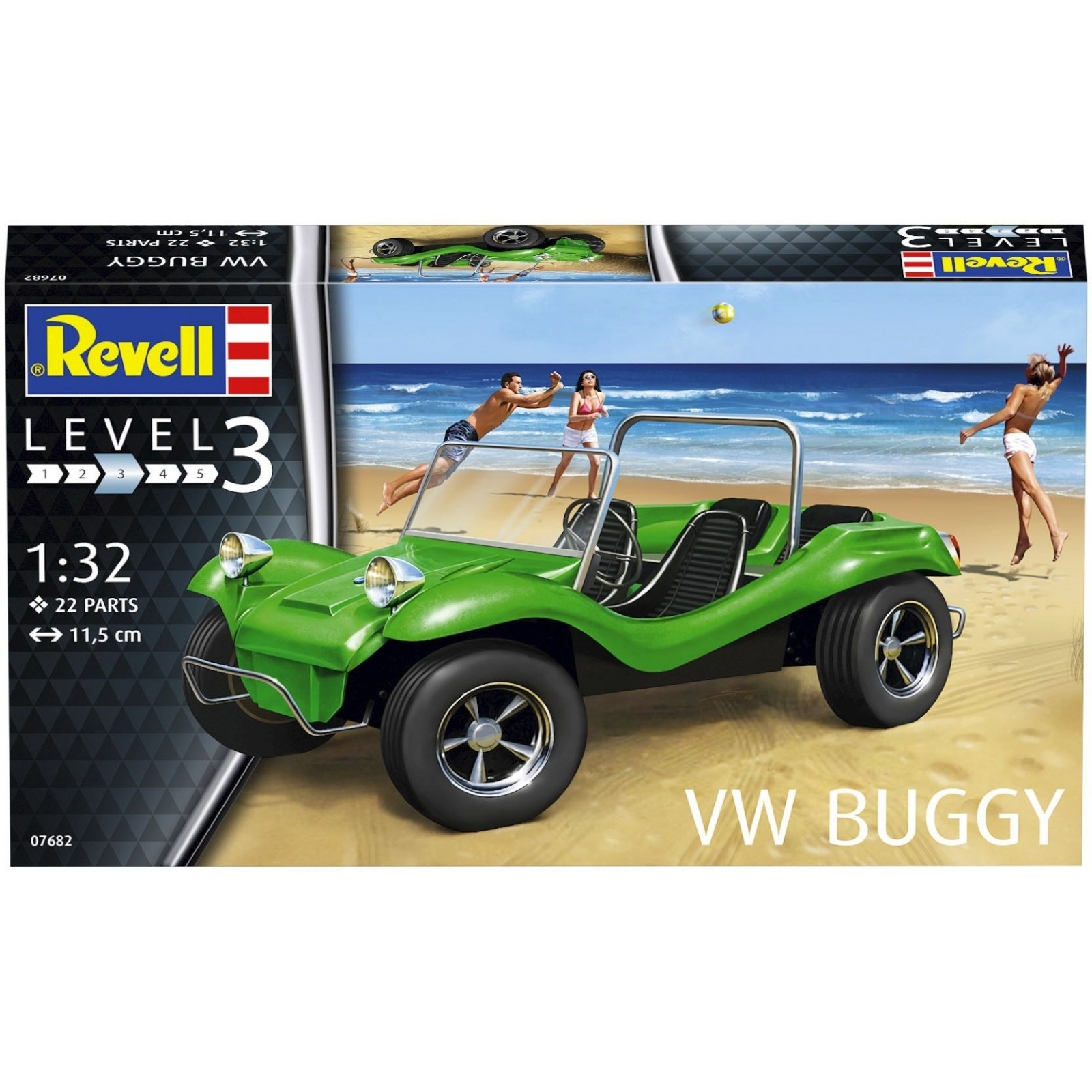 Revell VW Buggy (1:32) Skill 3 - 07682
