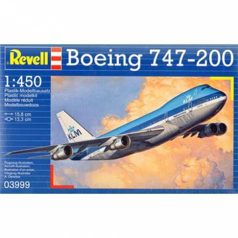 Revell Boeing 747-200 (1:450) Skill 3 - 03999