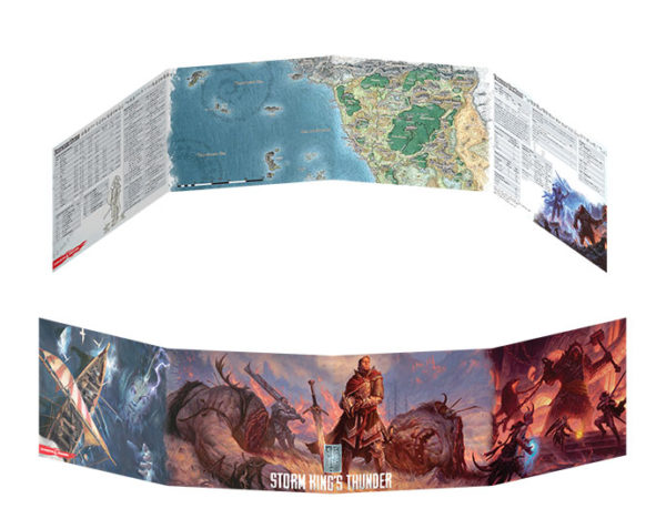 D&D 5.0 Dungeon Master's Screen Storm Kings Thunder