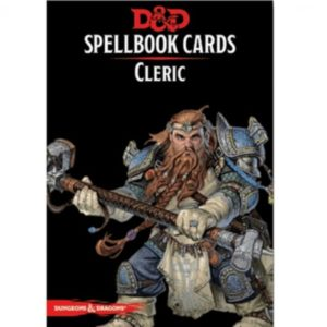 D&D 5.0 Spellbook Cards - Cleric (149 Cards)