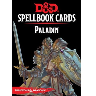 D&D 5.0 Spellbook Cards Paladin (69 Cards)