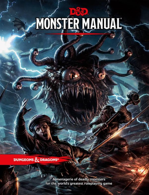 D&D 5.0 Monster Manual