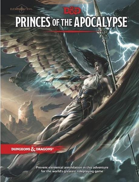 D&D 5.0 Princes of the Apocalypse