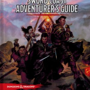 D&D 5.0 Sword Coast Adventurers Guide