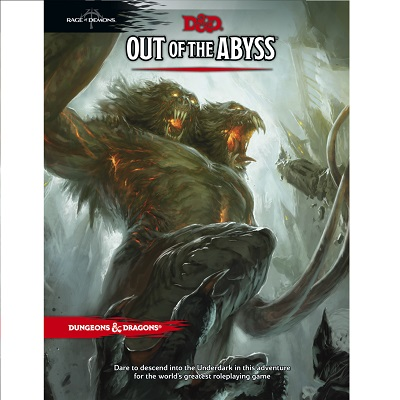 D&D 5.0 Out of the Abyss Rage of Demons