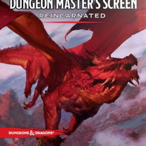 D&D 5.0 Dungeon Master's Screen Reincarnated