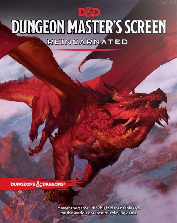 D&D 5.0 Dungeon Master's Screen Reincarnated
