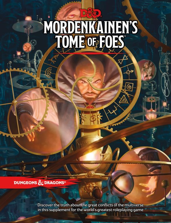 D&D 5.0 Mordenkains Tome of Foes