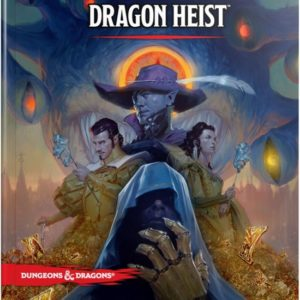 D&D 5.0 Waterdeep Dragon Heist Book
