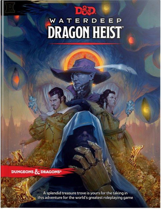 D&D 5.0 Waterdeep Dragon Heist Book