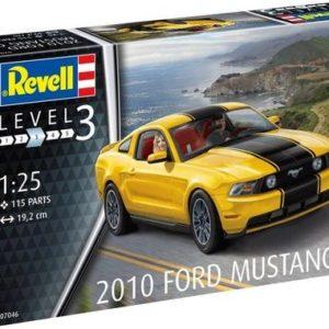 Revell: 2010 Ford Mustang (1:25) Skill 3 - 07046