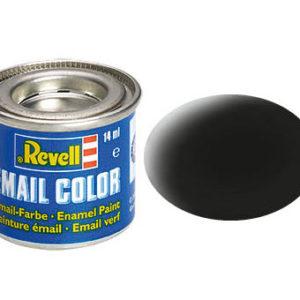 Revell: Verf Zwart Mat 14ml - 32108