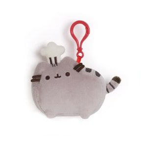 Pusheen with Chef Hat Backpack Clip