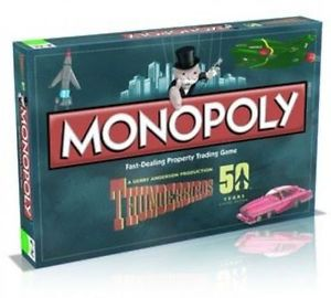 Monopoly Thunderbirds Retro (Beschadigde doos van 49,99)