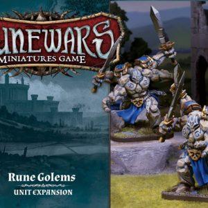 FFG Runewars Rune Golems Unit