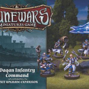 FFG Runewars Daqan Infantry Command Unit