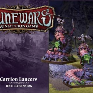 FFG Runewars Carrion Lancers Unit
